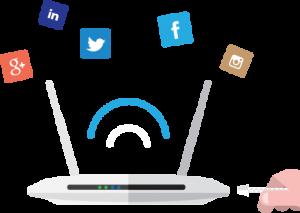 Social hotspot wifi